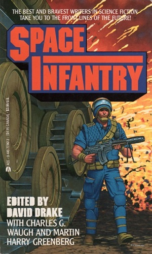 Cover art for Space Infantry  under fair use